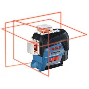 Линейный лазерный нивелир Bosch GLL 3-80 C (12 V) + BM1 + LR7 + L-boxx