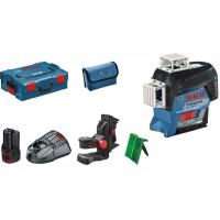 Линейный лазерный нивелир Bosch GLL 3-80 CG (12 V)+ BM 1 + L-Boxx