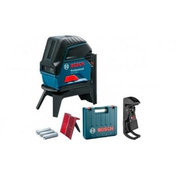 Комбинированный лазерный нивелир Bosch GCL 2-50 + RM1 + BM3+ кейс