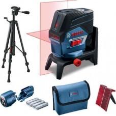 Комбинированный лазерный нивелир Bosch GCL 2-50 C + RM2 + BT 150
