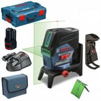 Комбинированный лазерный нивелир Bosch GCL 2-50 CG + RM 2 (12 V) + потолочная клипса