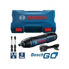 Аккумуляторная отвертка Bosch GO (GEN 2)