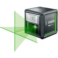 Линейный лазерный нивелир Bosch Quigo Green + MM2