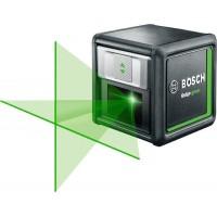 Линейный лазерный нивелир Bosch Quigo Green + tripod