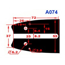 "Шина Oregon 14""; 3/8; 1,3мм (140SDEA074) для бензопил Stihl"