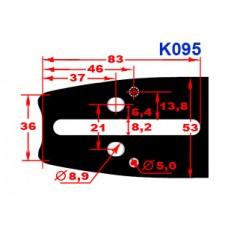 "Шина Oregon 15""; 0,325; 1,5мм (158PXBK095)"